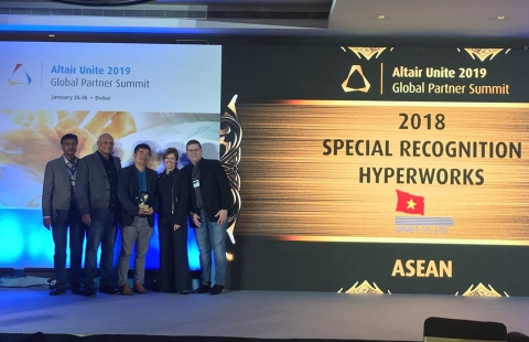 UPVIET - Excellent agent for the 2018 Asia Pacific region of Altair
